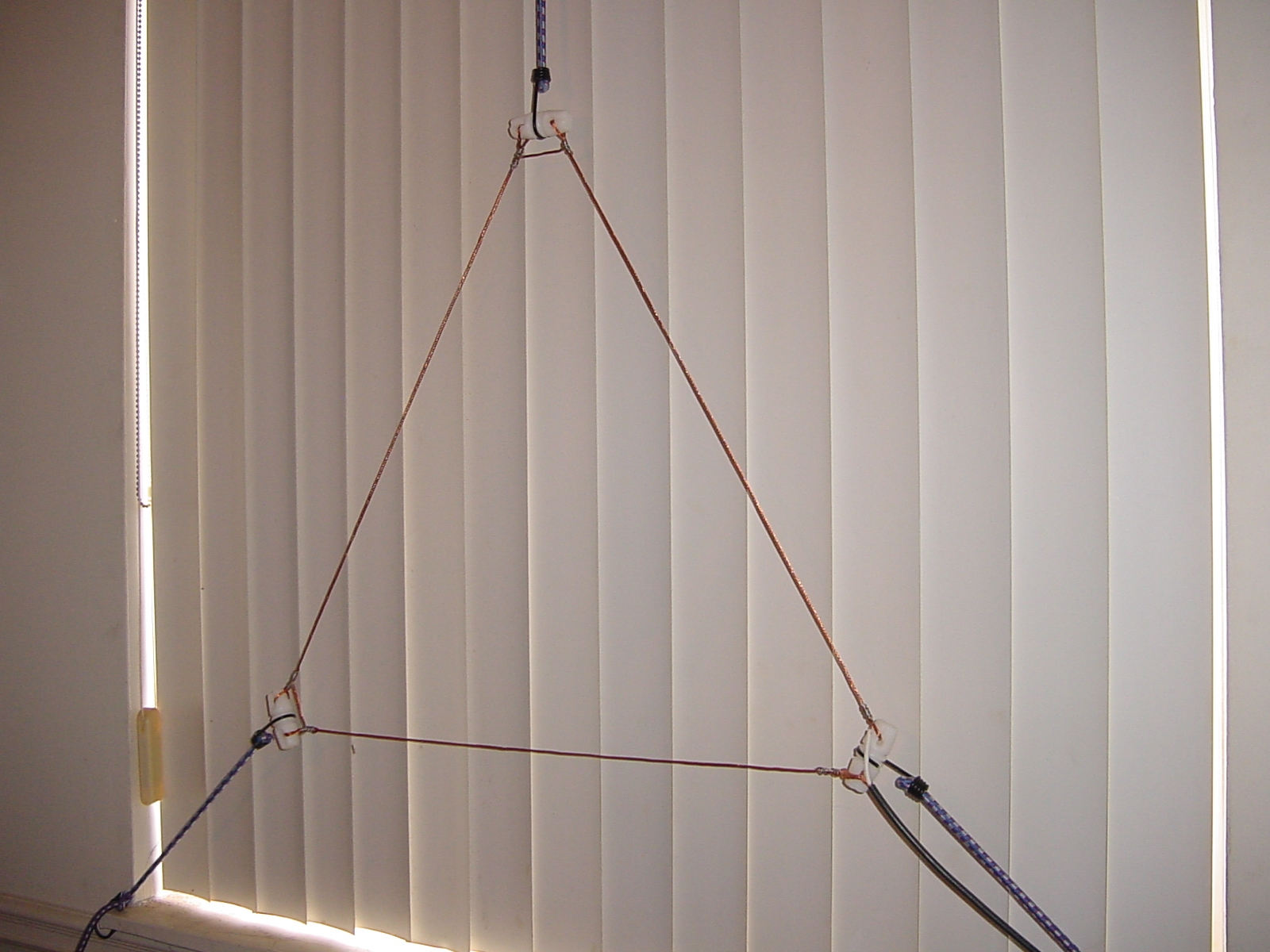 An Indoor VHF Delta Loop